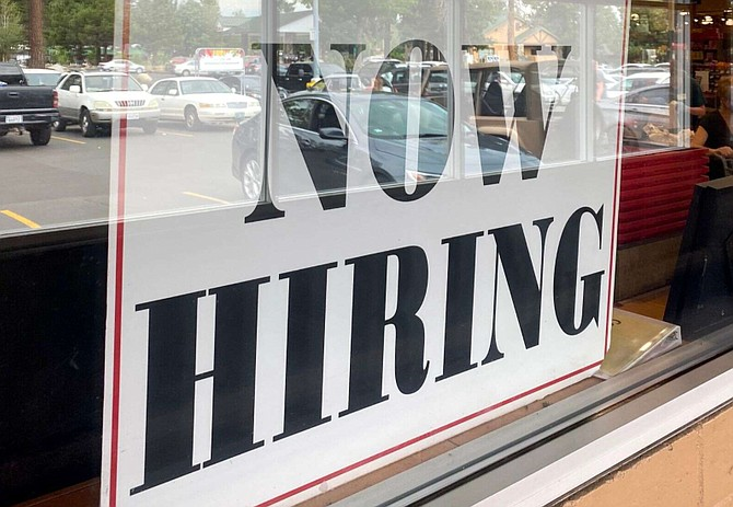 Now hiring or help wanted signs are on many businesses in the Lake Tahoe Basin.