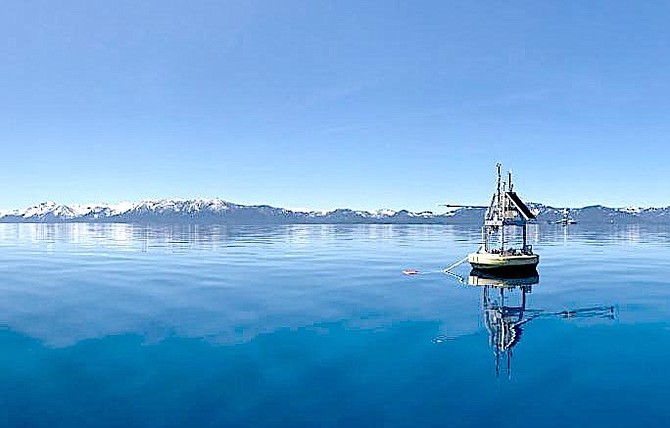 Lake Tahoe is getting warmer, according to the UC Davis Tahoe Environmental Research Center
