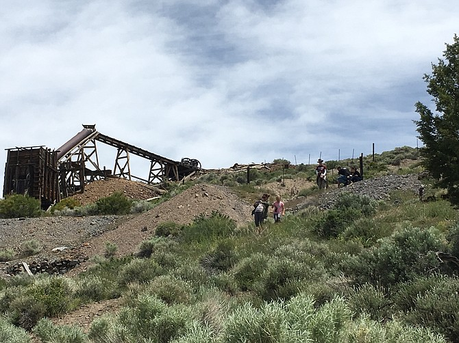 Field trips are part of Dr. Winnie Kortemeier's Geology of Nevada class for fall semester. There still is time to register for the Geology 201 class.