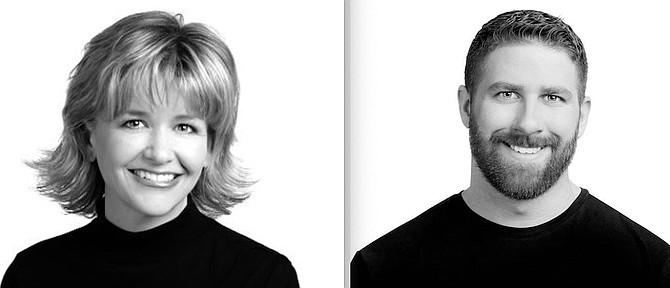 Michelle Sturge, left, and Trevor Phillips.