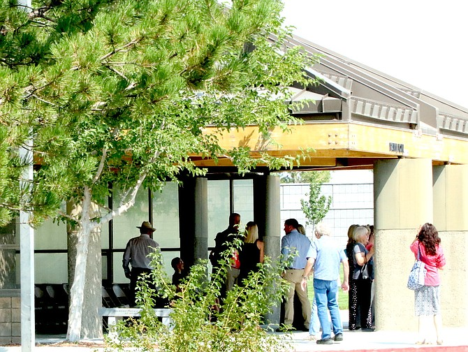 One of the capital improvements announced by the Nevada Department of Veterans Services is to renovate the pavilion at the Northern Nevada Veterans Memorial Cemetery. (Photo: Steve Ranson/LVN)