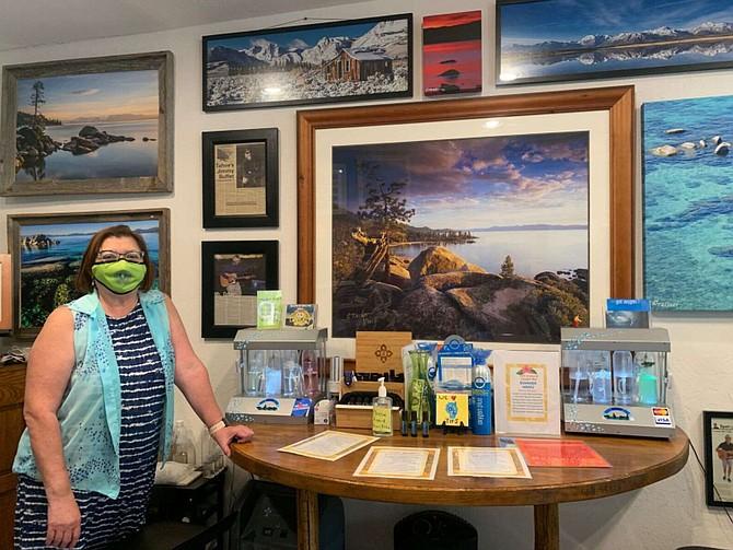 Co-founder Virginia Jordan opened Go2 Aroma Oxygen Bar in 2018 on Tahoe Boulevard in Incline Village.