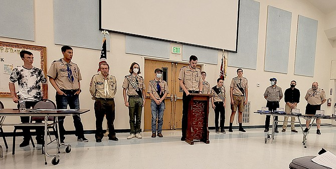The Eagle Scout Court of Honor