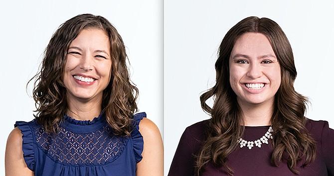Shayna Gaedtke, left, and Jena Esposito.