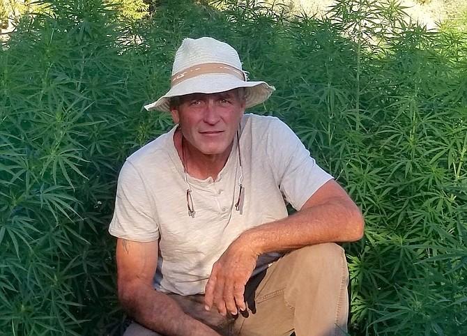 Mark O'Farrell is owner of Sierra Nevada Hemp in Carson City.