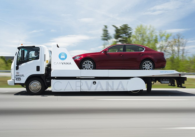 Carvana is expanding its as-soon-as-next-day delivery services to the Reno area.