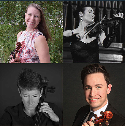 Spend part of Sunday afternoon, Sept. 12 enjoying the talent of the reNEW String Quartet at a free performance at Western Nevada College's Joe Dini Library.