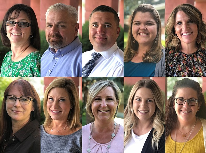 The Carson City School District announced the appointment of 10 new principals and district administrators for the 2021-22 school year.