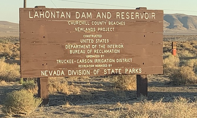 The Nevada Department of Transportation is resurfacing sections of the Lahontan State Recreation Area this month.