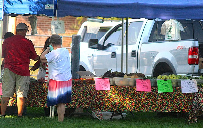 The final Main Street Farmers Market in Gardnerville's Heritage Park is 9 a.m. to 1 p.m. today.