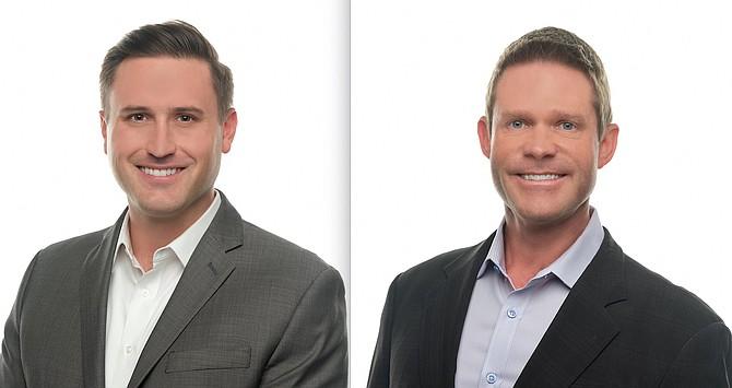 Sean Retzloff, left, and Shawn Smith.