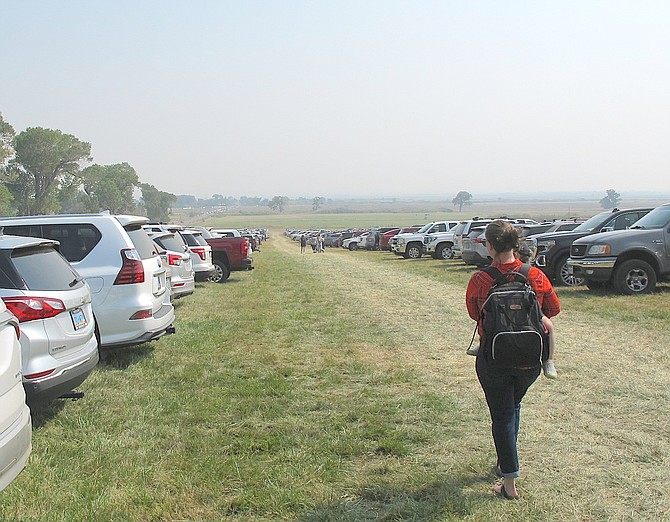 Parking is available at all three entrances to Carson Valley.
