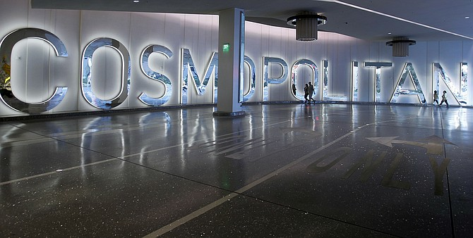 The Cosmopolitan of Las Vegas seen on Dec. 7, 2010. (AP Photo/Isaac Brekken, file)