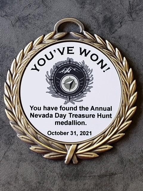 The Nevada Day Treasure Hunt kicks off Tuesday.