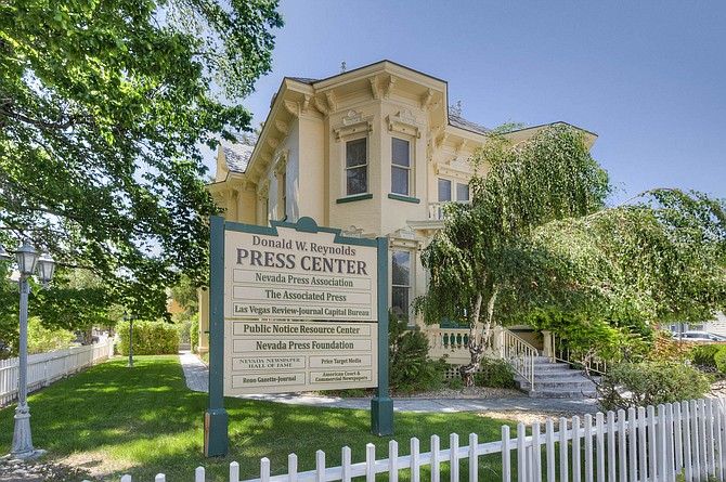 The Rinckel Mansion headquarters of the Nevada Press Association has sold.