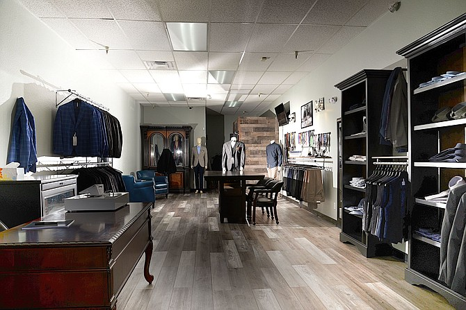 In Italia Men's Wear is located in The Crossing at Meadowood Square at 6405 S. Virginia St., Ste. 2, in Reno.