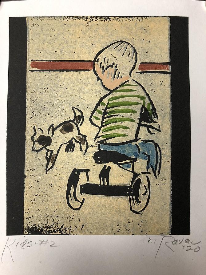 Nancy Raven's print.
