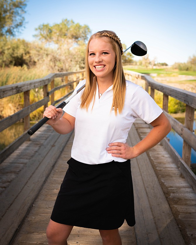 Fallon senior Lainee Reid finished second in stroke average in Northern Nevada and punched her ticket for next week's state tournament.