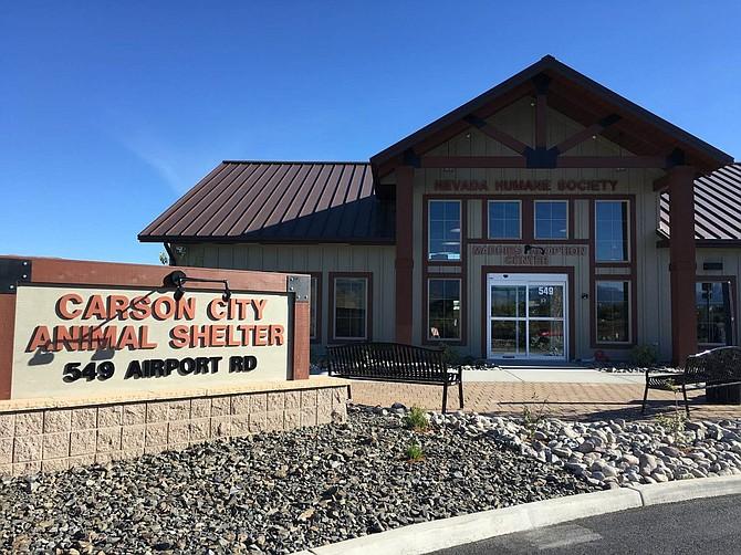 The Nevada Humane Society facility in Carson City.