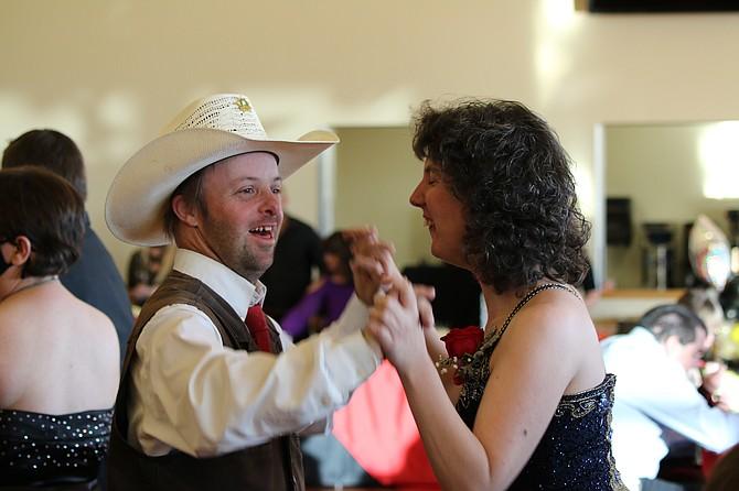 An Evening Under the Stars for members of the Carson Valley Aktion Club was Saturday at the Douglas County Community & Senior Center, sponsored by the Douglas County Leadership Class.