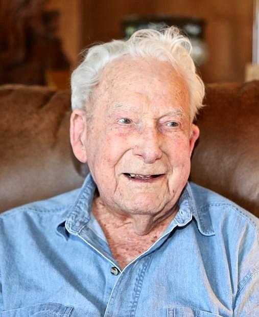 John de la Vaux of Carson City celebrated his 104th birthday on July 4th.