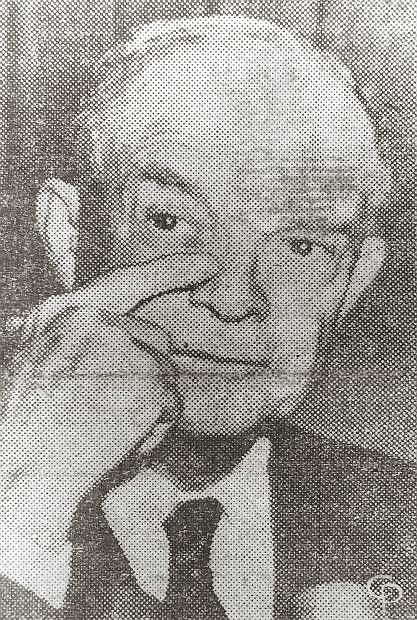 OVERCOME by emotion, President Eisenhower wipes away a tear as he tells the nation the Korea war has ended.