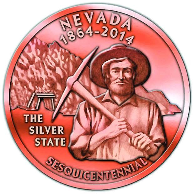 Front of the second medallion.