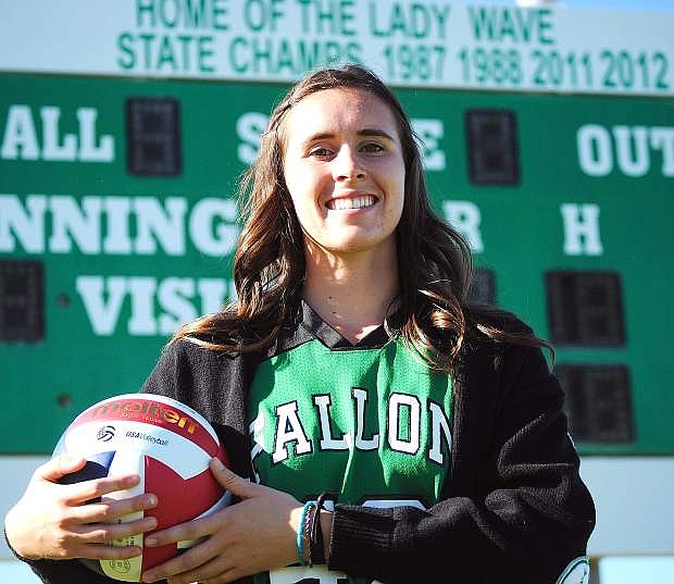 Cady Cordes excelled on the court and diamond in 2013. For her efforts, she is the LVN's Female Athlete of the Year.