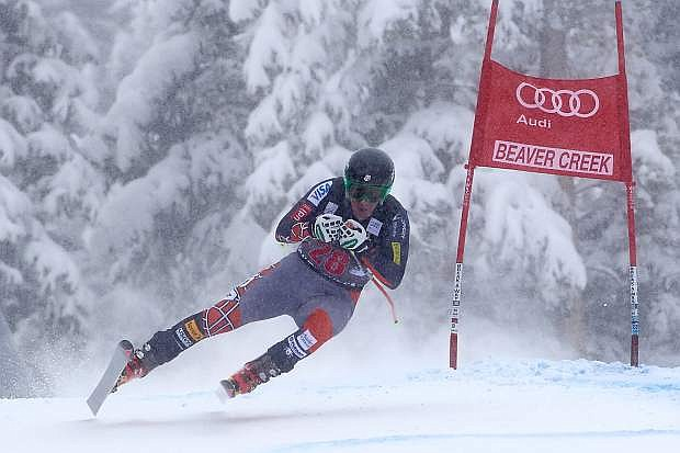 Squaw Valley skier Marco Sullivan was 28th in Friday's Birds of Prey downhill.