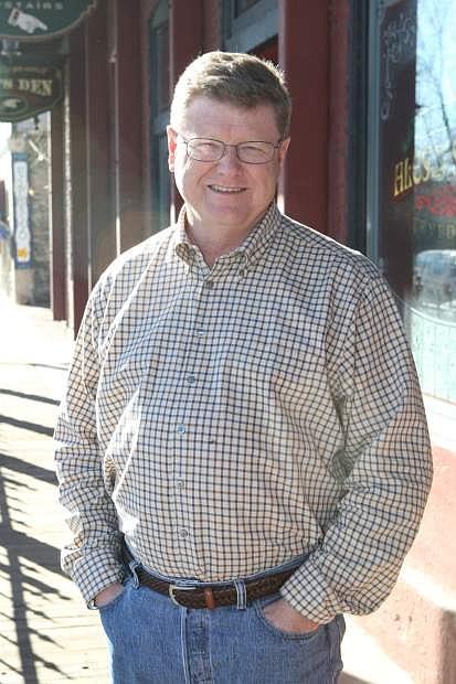 Congressman Mark Amodei in Carson City on Friday.