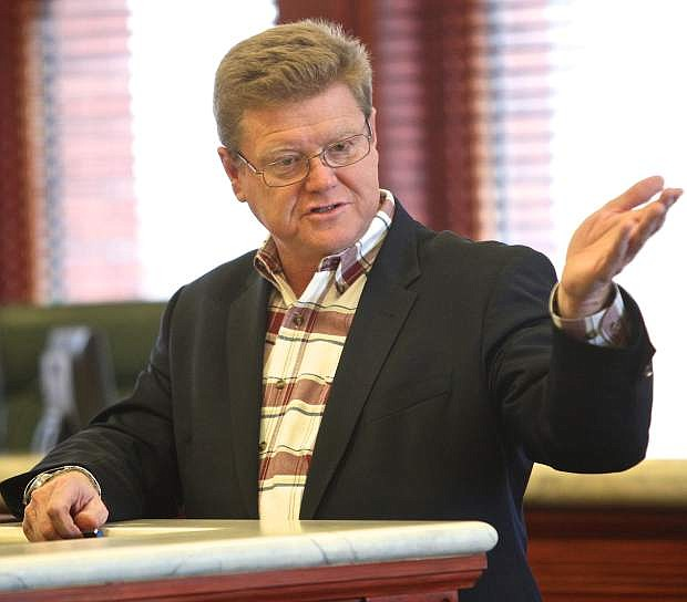 Congressman Mark Amodei said  Tuesday he fully expects legislation reviving thhe Yucca Mountain nuclear dump project to be passed by the House of Representatives.