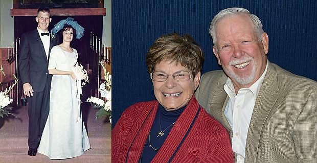 Longtime area residents Annette and Leo Mankins celebrated 50 years of marriage on Thursday.