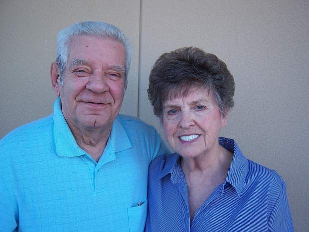 Shirley and John Nemeth of Carson City celebrated 60 years of marriage on Thursday.