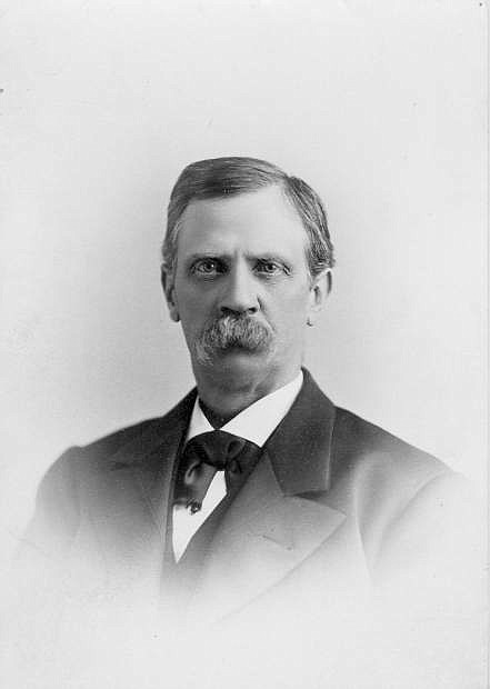 Henry Rust Mighels was the first editor of the Nevada Appeal.
