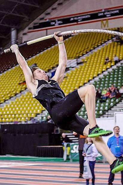 Carson High School alum Mike Arnold heads to the Olympic Trials today at the Univeristy of Oregon.