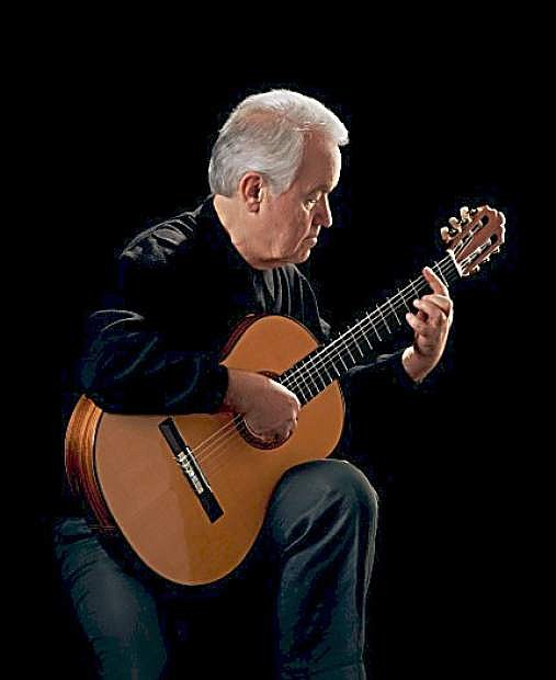 Classical guitarist George Sakellariou is set to perform on April 26 at the Brewery Arts Center.