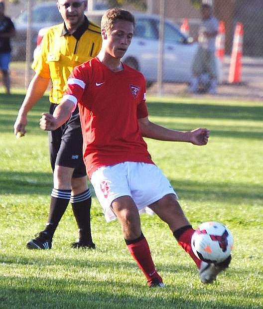 Truckee senior Thomas Arnstein and the Wolverines defeated Fallon 6-1 on Tuesday.