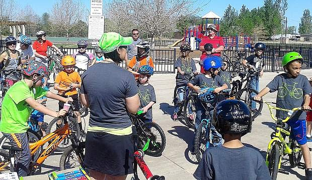 More than 50 youth cyclists turned out for the third annual Fallon Youth Bike Tour on May 2 at Venturacci Park.