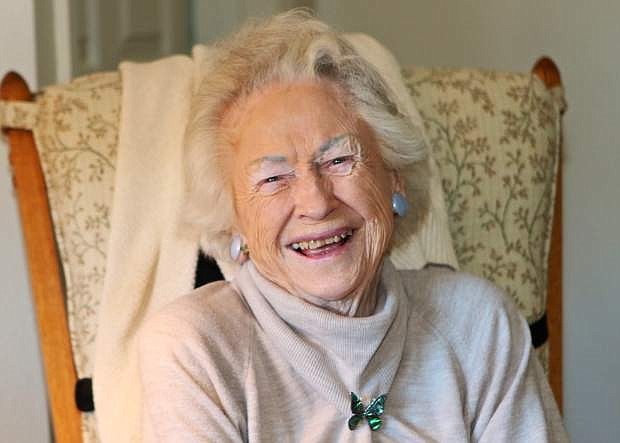 Gertrude Gottschalk celebrated her 100th birthday on Thursday.