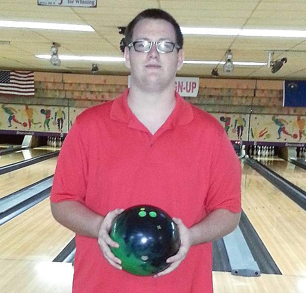 Robert Hurlburt, 16, rolled a perfect game on Sept. 20 at Oasis Bowl in Fallon. He is the youngest bowler to ever score a 300 at Oasis Bowl.