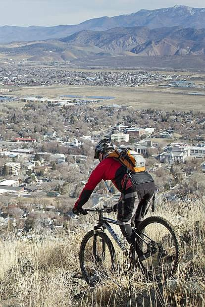 The Ride Carson City campaign encourages residents and visitors to explore Carson City in new ways. The campaign ties into the rebranding efforts of the Carson City Visitors Bureau over the last three years.