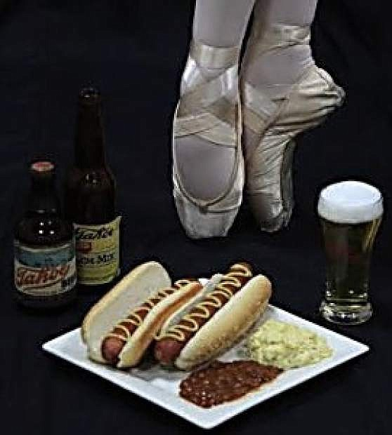 Local beer and sausage will be offered at an event Saturday at the Brewery Arts Center that showcases new ballet choreography.