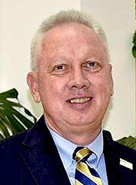 WNC President Chet Burton