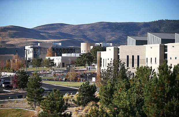The Carson City campus of Western Nevada College on Thursday, Oct. 24, 2013.