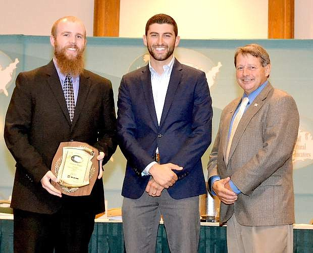 Carson High School Charlie Mann, an agricultural teacher, was one of a select group of teachers nationwide to receive the 2015 Teachers Turn the Key professional development scholarship.