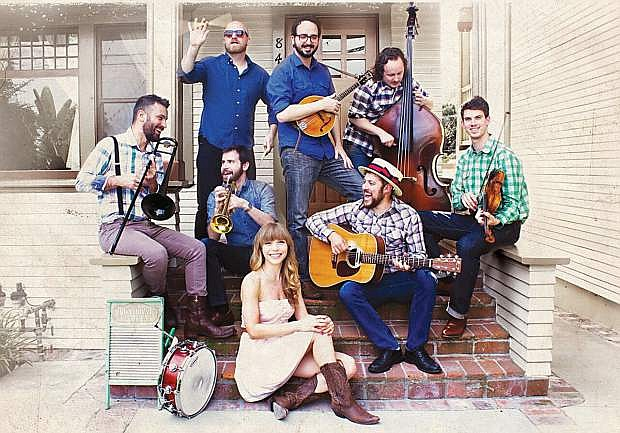 Dustbowl Revival, a Venice, Calif., roots band, is visiting Minden Feb. 19.