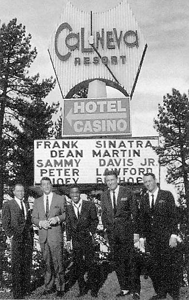 The Rat Pack was among the Hollywood elite who frequented the Cal Neva a half-century ago.