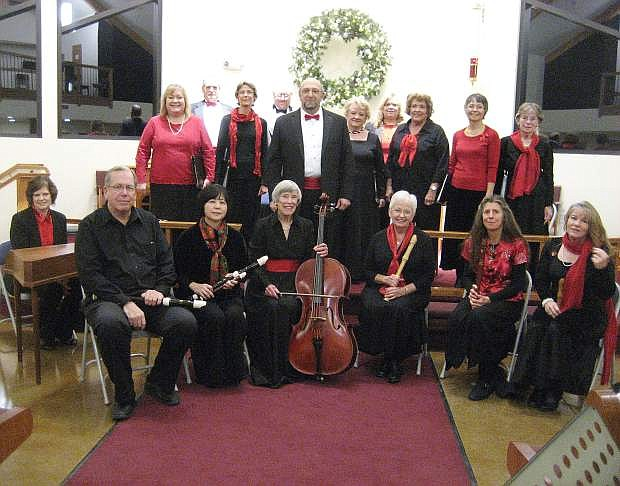 Consort Canzona is performing Christmas concerts this weekend in Carson City and Reno.