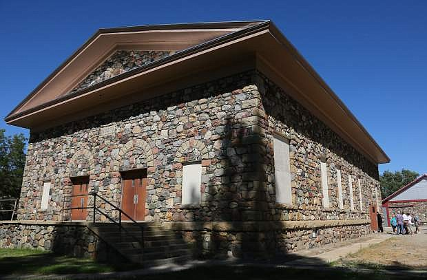 Tours of the Stewart Indian School were given during the Carson City Chamber of Commerce annual meeting on Monday.