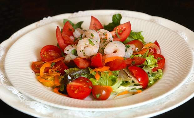 Shrimp Tomato Salad